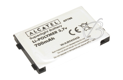 АКБ для Alcatel OT 756, 757 (3DS09499AAAA, BB09499), 700mAh, Lider