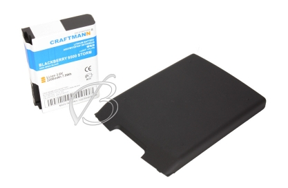 АКБ для Blackberry 9500 Storm, 9530 Storm, 9530T Storm (BAT-17720-002), 2200mAh, черный, Craftmann