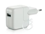 Адаптер питания сетевой (СЗУ, зарядное устройство, зарядка) 5V / 2.1A, USB-A для Apple iPad, iPhone, iPod, Apple MC359, оригинальный, с евровилкой, oem