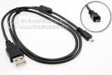Кабель USB для фототехники (UC-E6, CB-USB7, USB-3, I-USB33, K1HA08CD0019), 8pin, oem