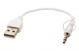 Переходник USB - Jack 3.5mm 4pole, кабель, для MP3 плейера Samsung YP-F1, oem