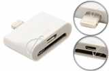 Переходник (адаптер) Apple 30pin + micro-USB - Lightning, для Apple iPhone5, iPad4, iPad mini, oem