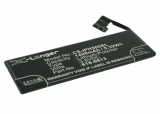 АКБ для Apple iPhone 5 (616-0611, 616-0612, 616-0613), 1400mAh, Cameron Sino