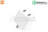 СЗУ с USB выходом, 5.0V, 3.60A, 2x USB, Quick Charge 3.0, Xiaomi, original